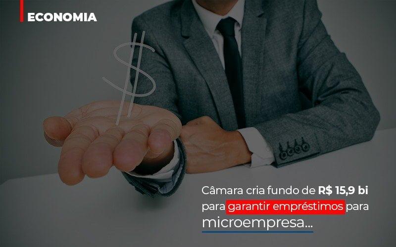 Camara Cria Fundo De Rs 15 9 Bi Para Garantir Emprestimos Para Microempresa - Contabilidade Em Campinas   JL Ramos Contabilidade Digital